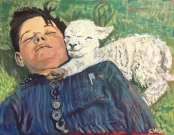 """A Boy and His Lamb"""